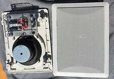 """(2) Yamaha Natural Sound 6-1/2"""" 3-Way In-Wall Speakers"""