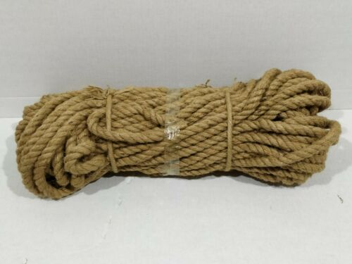 Juteseil 14mm Reste ca.10m mind. 9m Jute Seil Tau Tauwerk gedreht verdreht