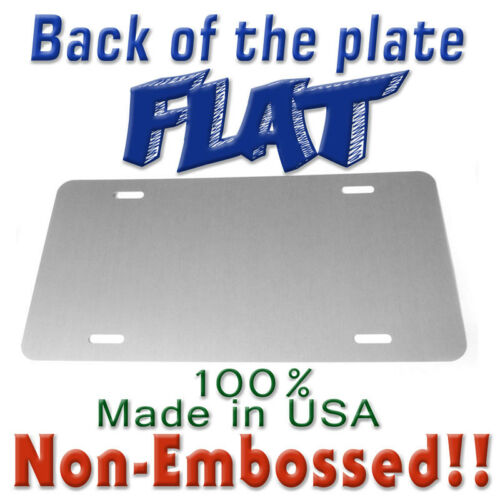 New Jersey State Flag Personalized Aluminum Novelty Car License Plate