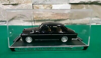Die cast 1//43 Modellino Auto Polizia Alfa Romeo 1900 Ti Super Pantera by Brumm