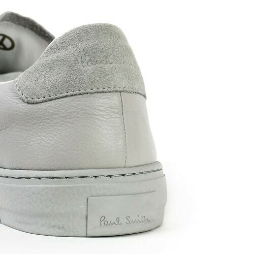 Uk £ En Baskets Taille 6 En Paul Levon Gris Rrp Smith Cuir 275 TPWWOq8