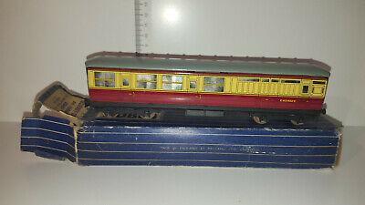 (lot 244 D) Hornby Dublo D11 32014 B.r. (e.r.) Corridor Coach Brake/3rd E45402e