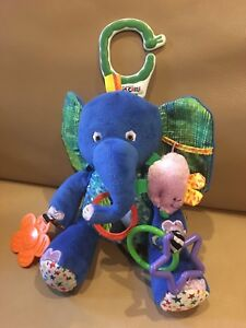 Activity Toys Baby New Bkids Lobster Rattle/teether