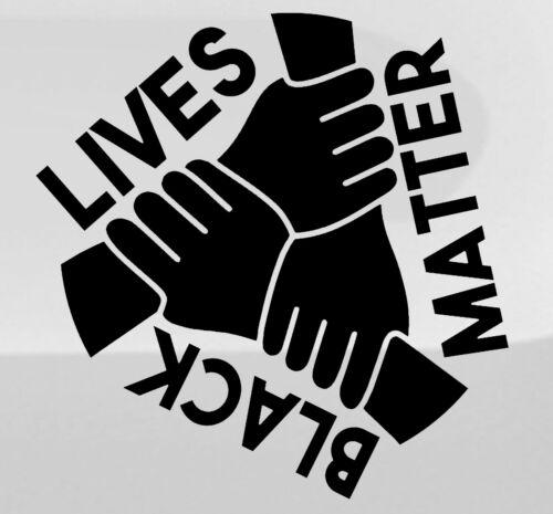 BLACK LIVES MATTER Car//Van//Truck//Bumper//Window Vinyl Decal Sticker 1ST ClassPost