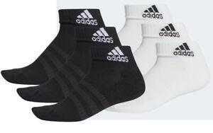 Adidas Herren Damen Sneaker Sommer Sport Socken Füsslinge 3er Pack DZ9379 DZ9365