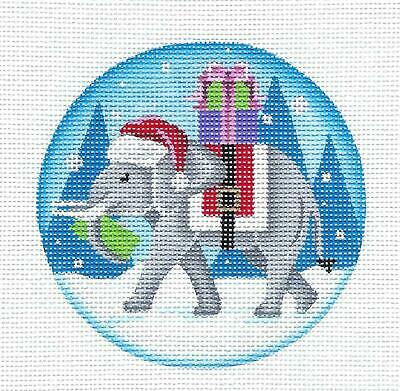 Gifts HP Needlepoint Ornament