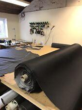 Black Car Camper Van Truck Auto Upholstery Cloth Material Fabric