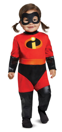 Violet Girls Infant Superhero The Incredibles Deluxe Costume