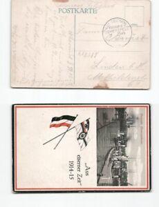 b85804-Ansichtskarte-deutsche-Uboote-1915-mit-Schiffspoststgempel-nach