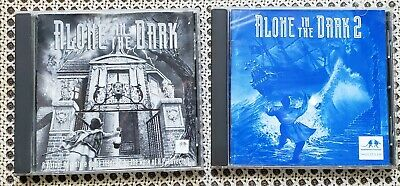 Vintage Alone In The Dark 1 2 Jack In The Dark Cd Rom S Pc