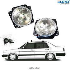 Euro spec.Rare Crystal Clear Headlight Lamp fit for VW Golf Jetta MK2 GTI GL 16V