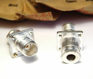 6x TNC HF brida-enchufe hembra para Front discos-montaje, mil calidad de Automatic  </span>