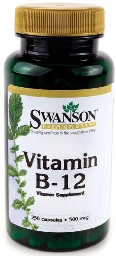 Swanson  Vitamin B-12 500mcg      FREE P/&P