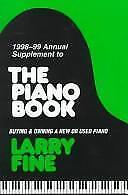 1998-99 Annual Supplement to the Piano Book by Larry Fine