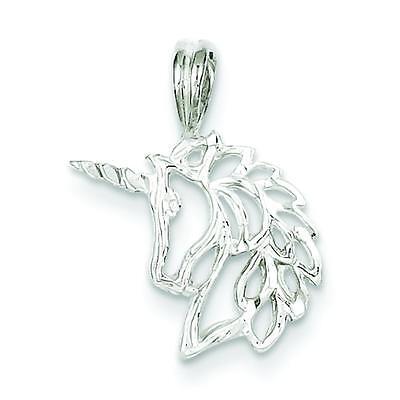 Sterling Silver Unicorn Charm Pendant Fantasy Jewelry