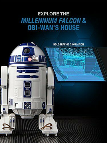 R2-D2 App-Enabled Droid with Holographic Simulation Integrated Speaker /& LED
