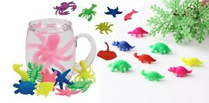 Magic-Growing-Sea-Creature-Animals-Dinosaur-Add-Water-Swell-Kid-Toy-Pet-T-Rex