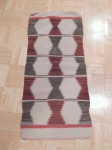 Vintage Navajo Indian Gallup Throw Rug