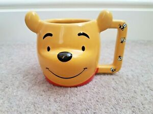 Disney Store Winnie l/'Ourson Eeyore Tigre Porcelet Sculpté 3D Tasse Thé Café