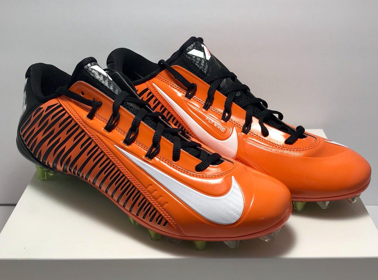 Nike uomini elite 2 flywire carbonio 14 vapore calcio calcio arancione nero