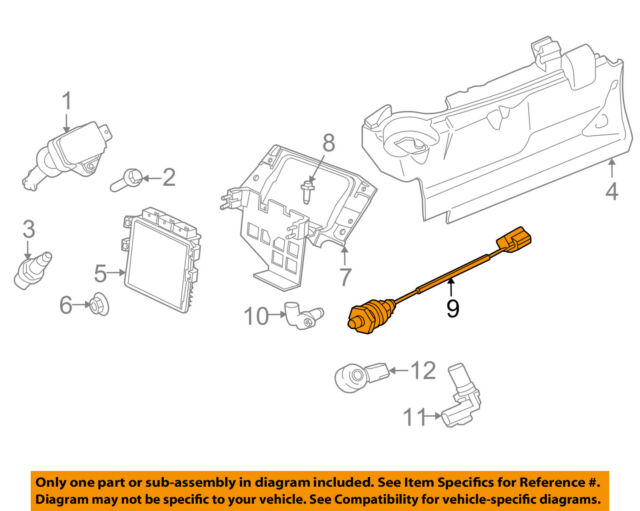 jaguar oem 13-17 xf-fuel injection pressure regulator aj813639