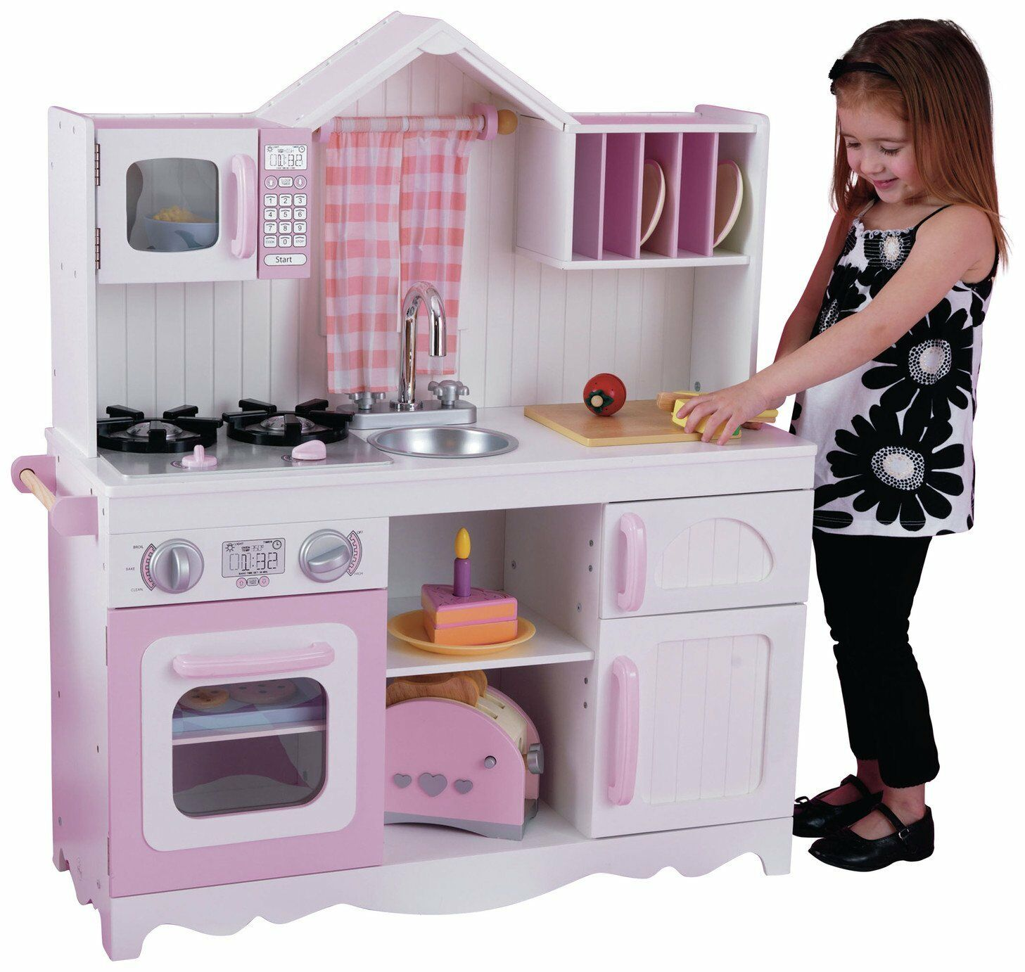 KidKraft Modern Country Wooden Play Kitchen