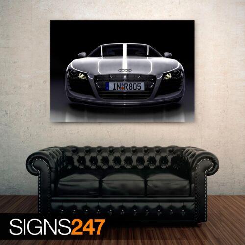 Audi Front 0843 Voiture Poster-Photo Poster print ART A0 A1 A2 A3 A4