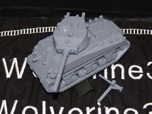 Flames Of War USA 1/100 M4A3 Sherman Tank 76mm 15mm FREE SHIPPING