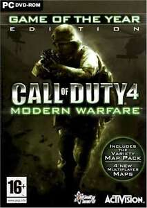 CALL-OF-DUTY-4-MODERN-WARFARE-GAME-OF-THE-YEAR-GOTY-PC-DVD-034-NEW-amp-SEALED-034