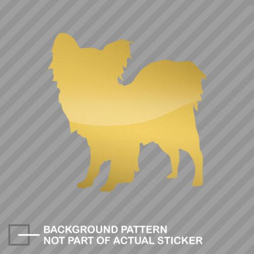 Papillon Sticker Decal Vinyl dog canine pet