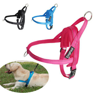 Adjustable-Dog-Puppy-Harness-No-pull-Pet-Padded-Reflective-Strap-Training-XS-L