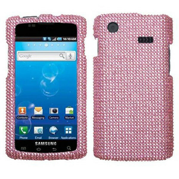 Pink Bling Hard Case Cover Samsung Captivate i897