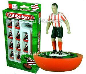 SUBBUTEO Sunderland Sheffield United Southampton Rosso Bianco Squadra Calcio Figure
