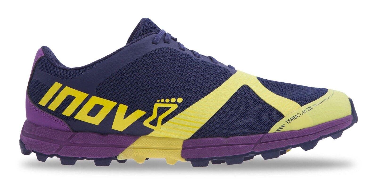 Inov - 8 Mujer terraclaw 220 Trail Running Running Running zapatos Berry Azul Negro  orden ahora disfrutar de gran descuento