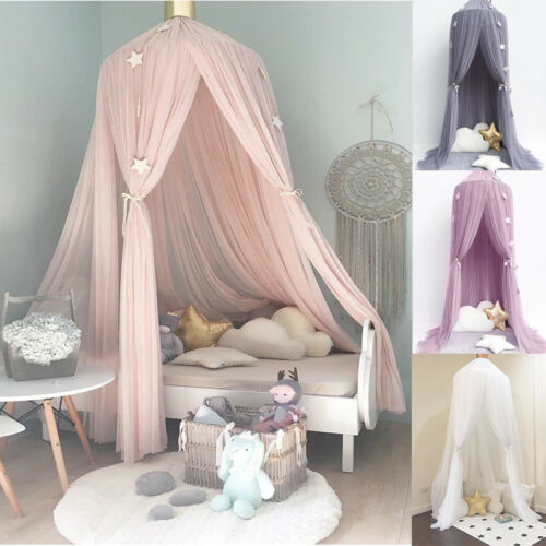 kids childrens bedding round dome bed canopy