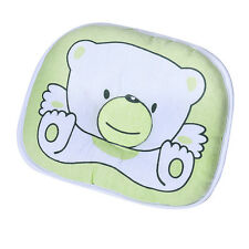 Newborn Baby Infant Support Head Soft  Cotton Flat Sleeping Cushion Pillow F1