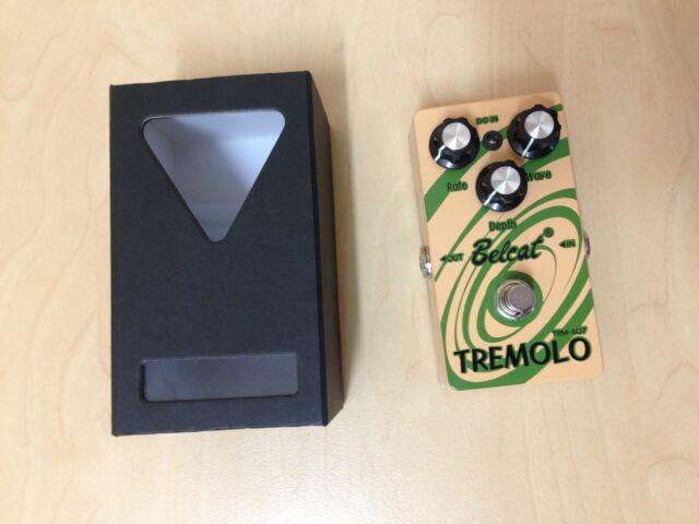 Belcat TRM-507 Guitar Effects Pedal, TREMOLO - Light Brown