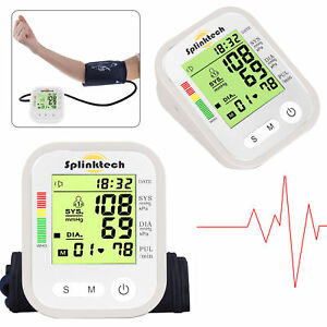 PortableAutoDigital-UpperArmBlood-Pressure-MonitorHome-Measurement-Machine-white