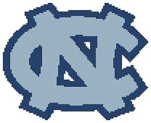 counted cross stitch pattern north carolina tarheels logo free us rh ebay com tarheel logos images tarheel logos images