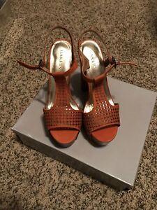 Orange Bakers Shoes Nikki Heels Nib SjLVpGUzMq