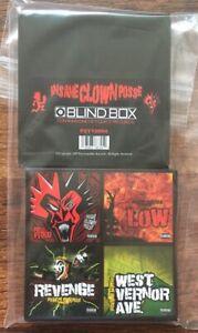 Insane-Clown-Posse-3-034-Blind-Box-Set-4-Pack-ICP-Vinyl-New-Limited-Color-Vinyl