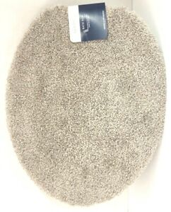 Marvelous Details About Colormate Gray Luxury Plush Toilet Universal Lid Cover Bath Rug New With Tags Andrewgaddart Wooden Chair Designs For Living Room Andrewgaddartcom
