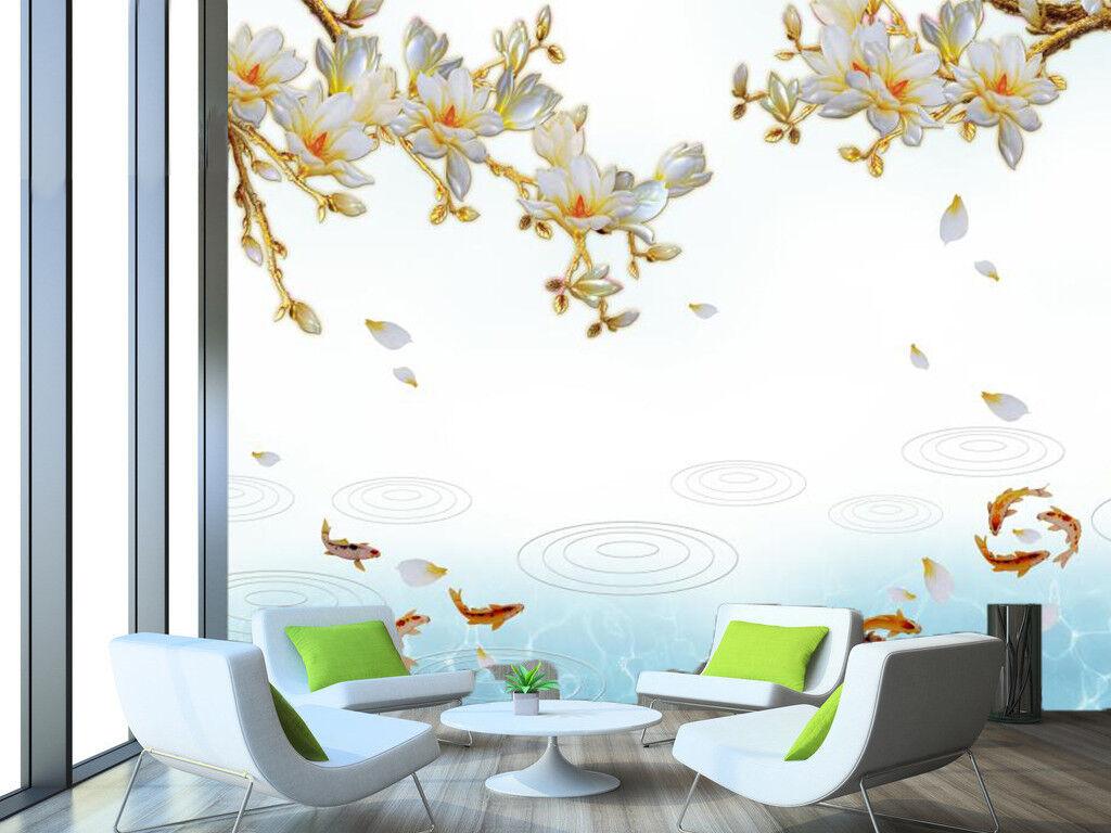 3D Flower Petal 78 Wallpaper Mural Wall Print Wall Wallpaper Murals US Carly