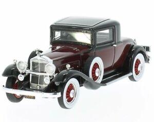 PACKARD 902 Standard Eight Coupe - 1932 - darkred - NEO 1:43