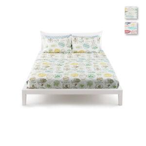 Completo-letto-Cayo-Largo-Bassetti-doppie-federe-dimensioni-varie-R233