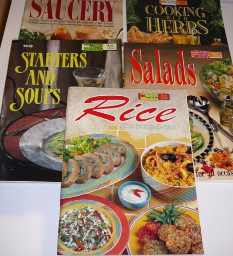 1 of 1 - Cooking with Herbs Salads Rice Cookbook Aust Women's Weekly Home Library x 3