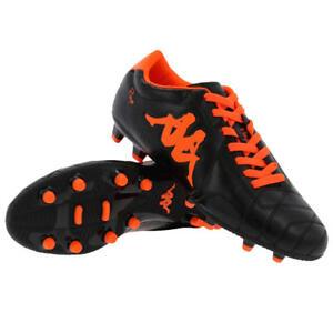 Kappa Men s Player FG Base Football Boots - Black Orange - UK 8 EU ... 3de3d523e3b
