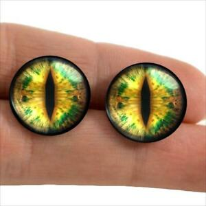 14mm Glass Eyes Reptile Animal Taxidermy Craft Eyeballs