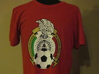 Adidas Mexico National Soccer Team Federacion Mexicana De Futbol T-Shirt Large