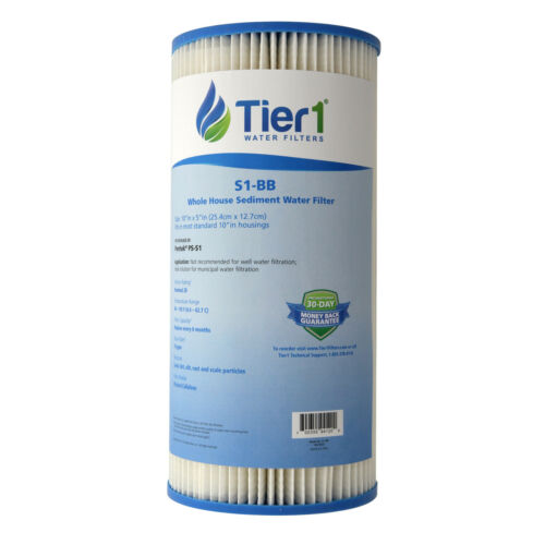 Fits Pentek S1-BB 20 Micron 10 x 4.5 Comparable Sediment Water Filter